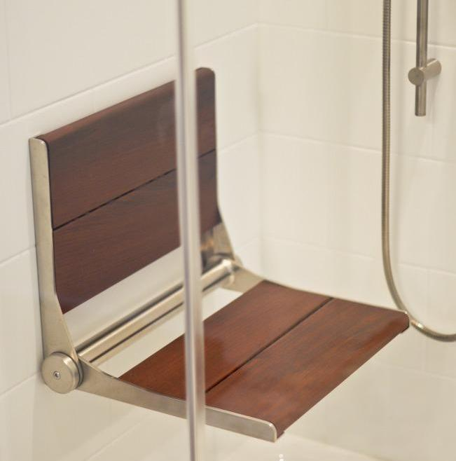 Reliable Accessible Bathroom Renovation Ottawa – Shower Seat Open